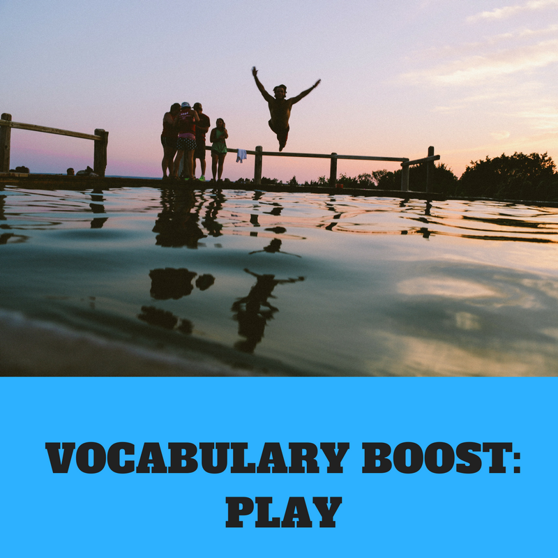 VOCABULARY BOOST-PLAY