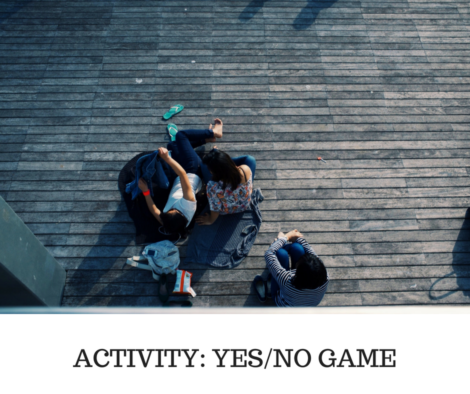 ACTIVITY- YESNO GAME