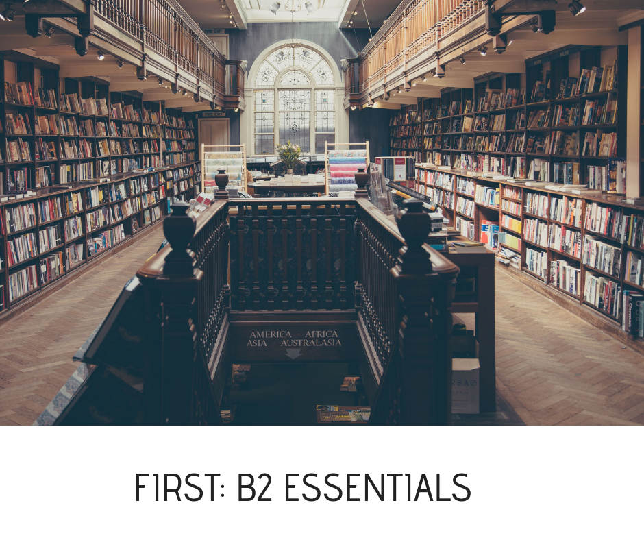 FIRST- B2 ESSENTIALS