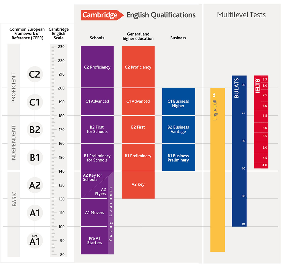 CAMBRIDGE EXAM ENGLISH: LINGUASKILL – Intercambio Idiomas Online